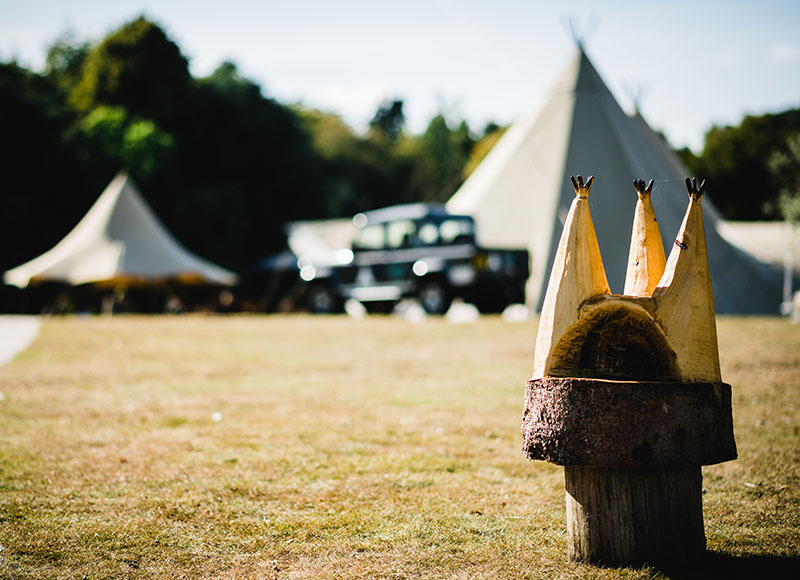 Hertfordshire Wedding Venue Tipi